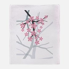 Sakura Throw Blanket