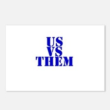 Us Vs Them Postcards (Package of 8)