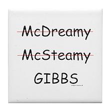 Mc- Gibbs??? Tile Coaster