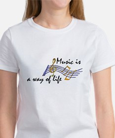 Music...a way of Life Women's T-Shirt