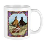 English Shortfaced Pigeons Fr Mug