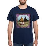 English Shortfaced Pigeons Fr Dark T-Shirt