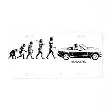 MIATA EVOLUTION Aluminum License Plate