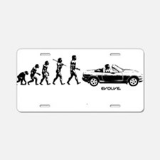 MIATA EVOLUTION Aluminum License Plate