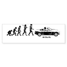 MIATA EVOLUTION Bumper Stickers