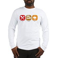 Eat Sleep GRILL Long Sleeve T-Shirt