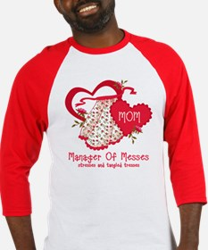 Manager of Messes Baseball Jersey
