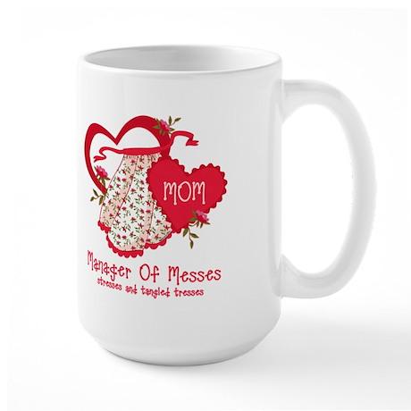 Manager of Messes Large Mug