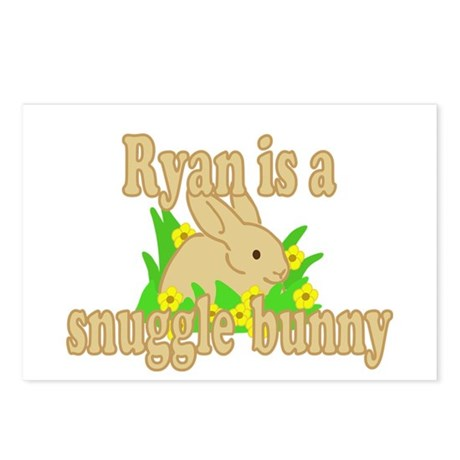 Ryan is a Snuggle Bunny Postcards (Package of 8)