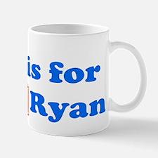 Baby Blocks Ryan Mug