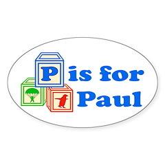 Baby Blocks Paul Decal