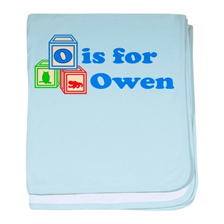 Baby Blocks Owen baby blanket