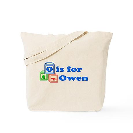 Baby Blocks Owen Tote Bag