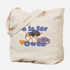 O is for Owen Tote Bag