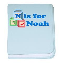 Baby Blocks Noah baby blanket