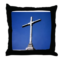 cross/religion Throw Pillow
