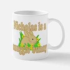 Nicholas is a Snuggle Bunny Mug