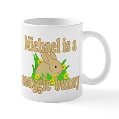 Michael is a Snuggle Bunny Mug