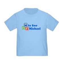 Baby Name Blocks - Michael T