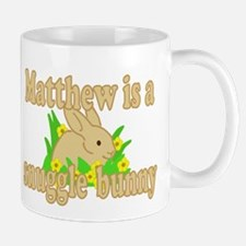 Matthew is a Snuggle Bunny Mug