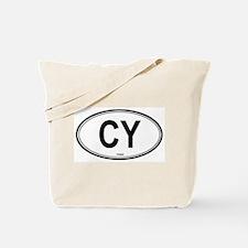 Cyprus (CY) euro Tote Bag