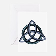 Triquetra Blue Greeting Cards (Pk of 20)