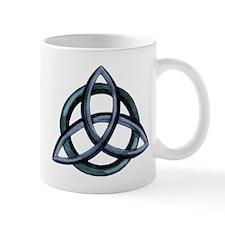 Triquetra Blue Mug