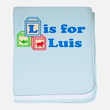 Baby Blocks Luis baby blanket