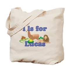 L is for Lucas Tote Bag