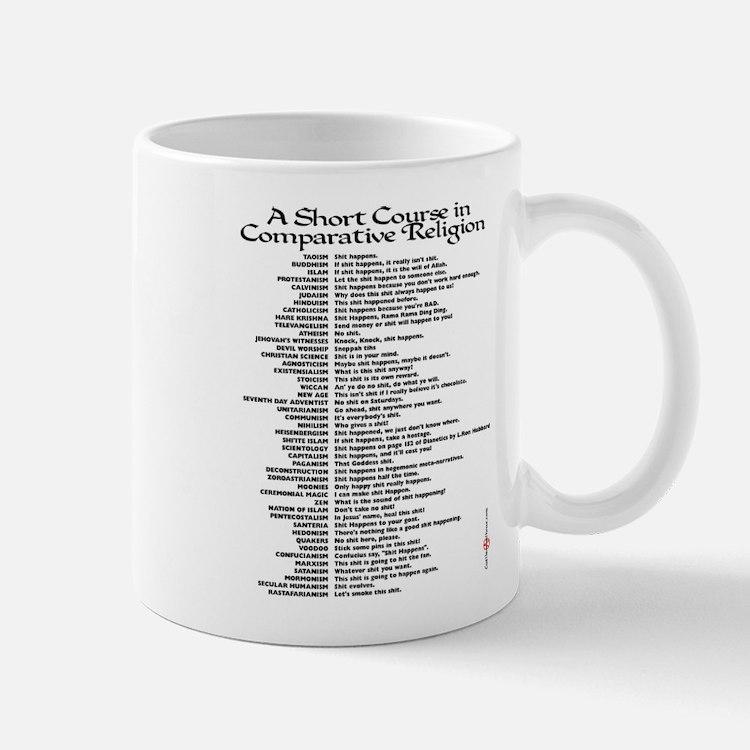 Comparative Religions Mug