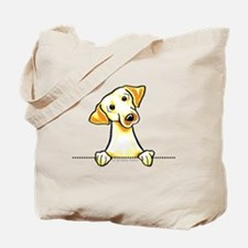 Yellow Lab Line Art Tote Bag