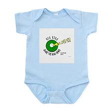 SHARE THE GOoDnews...God Loves You! Infant Creeper