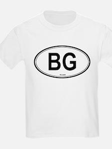 Bulgaria (BG) euro Kids T-Shirt