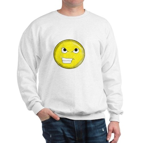 Vintage Angry Smiley 1 Sweatshirt