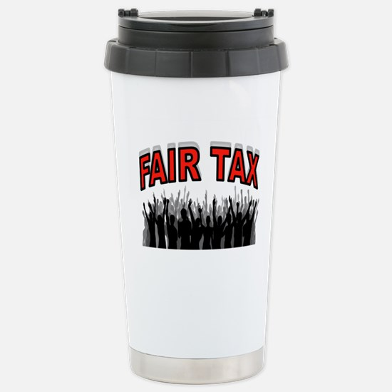 NO MORE IRS Stainless Steel Travel Mug