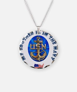 Navy Brother Necklace