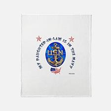 Navy Daughter-In-Law Throw Blanket