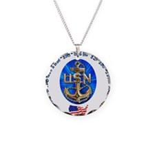 Navy Daughter-In-Law Necklace
