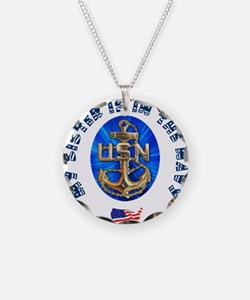 Navy Sister Necklace