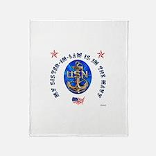 Navy Sister-in-Law Throw Blanket