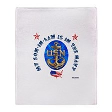 Navy Son-In-Law Throw Blanket