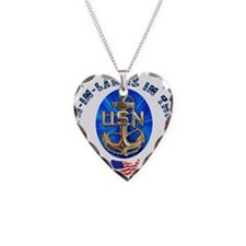 Navy Son-In-Law Necklace