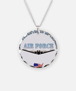 Air Force Granddaughter Necklace
