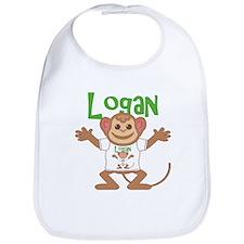 Little Monkey Logan Bib