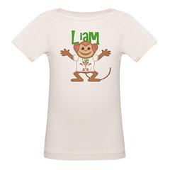 Little Monkey Liam Organic Baby T-Shirt