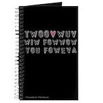 Princess Bride Twoo Wuv Foweva Journal