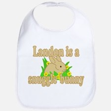 Landon is a Snuggle Bunny Bib