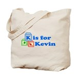 Baby Blocks Kevin Tote Bag