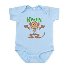 Little Monkey Kevin Infant Bodysuit