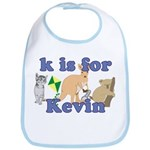 K is for Kevin Bib